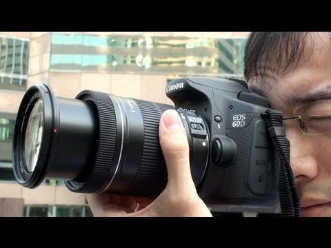 Canon EOS 60D Hands-on Review