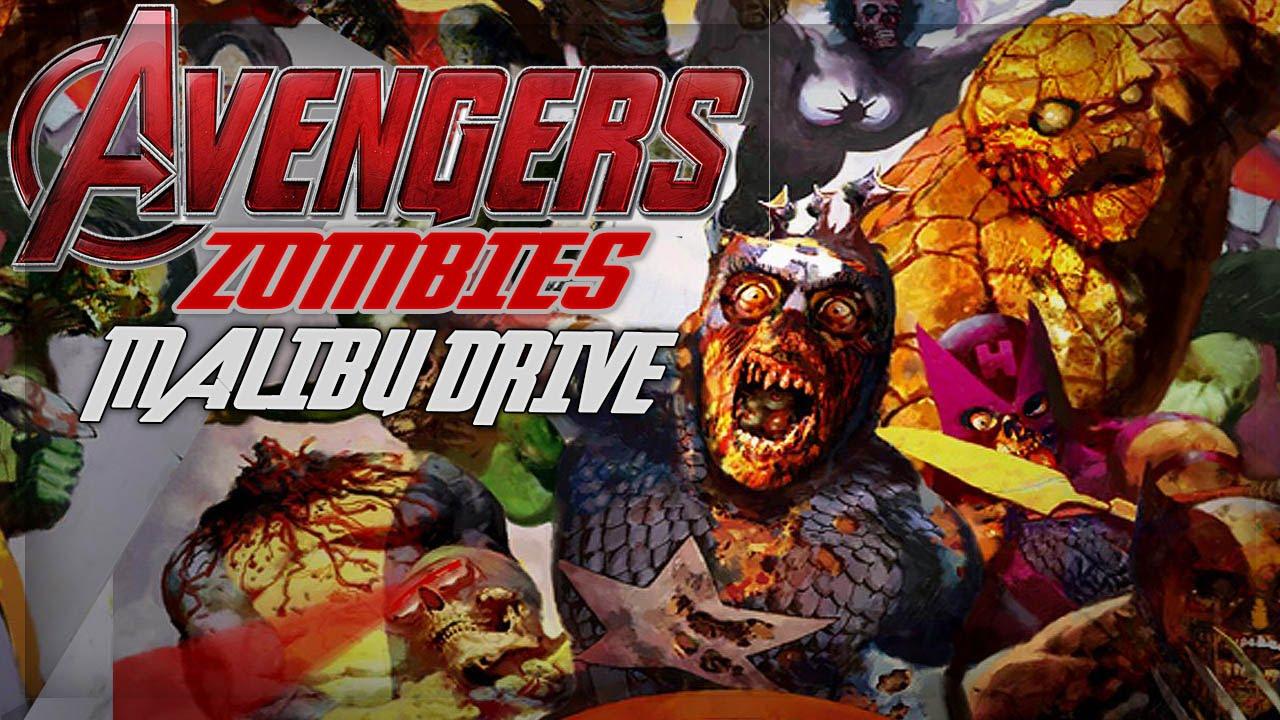 Avengers Zombies Call Of Duty Zombies Malibu Drive