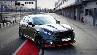 First time on the MoscowRaceway track on my Infiniti FX37S /1