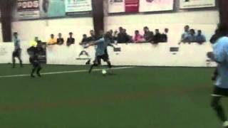 Grant's First Goal with VaBeach SOL of IPL