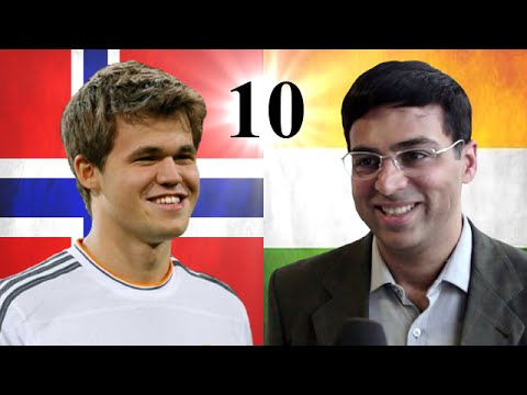 Game 10 - 2014 World Chess Championship - Viswanathan Anand vs Magnus Carlsen