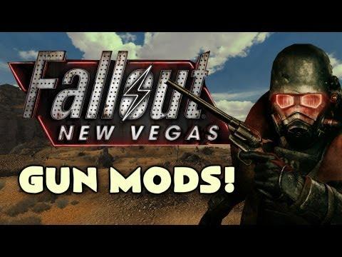 Fallout NV: AS VAL, Barrett 98B, K98 Sniper, And Sten MK2 Gun Mods! (Gun Run Ep.