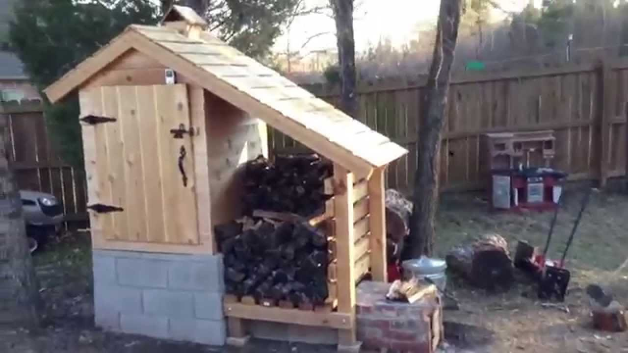 Cold Smoking Bacon In My Smokehouse Youtube