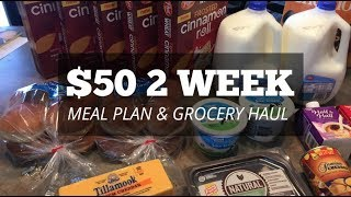 $50 Two Week Meal Plan & Grocery Haul for Large Family | Ibotta Deals | Vlogmas Day 11