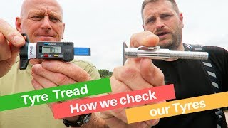 Checking your Motorbike Tyre Tread Depth - Are you legal?