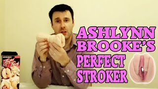 Best Pocket Pussy Review | Most Realistic Male Stroker Molded from Ashlynn Brooke's Vagina!