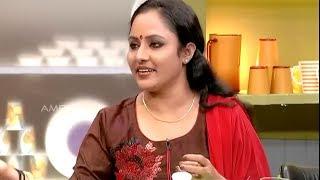 Annies Kitchen With Uppum Mulakum Fame Nisha Sarang | Mushroom masala curry recipe