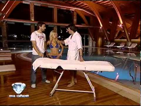 Showmatch 2009 - Alejandra Maglieti, víctima  de Aquí Calafate