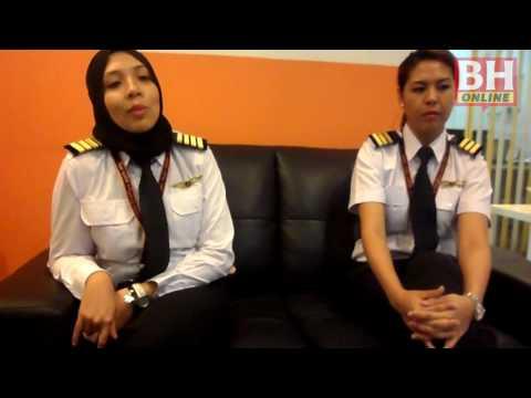 Tekad juruterbang wanita