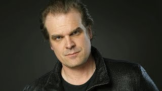 Actor David Harbour tips his hat to the 'horrible' kids on 'Stranger Things'
