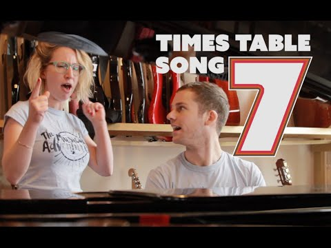 7 Times Table Song  Katy Perry Firework   7 Times Table Trick