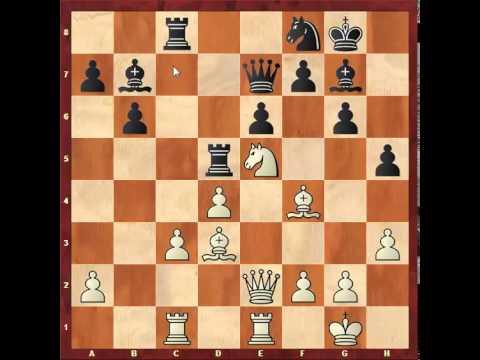 Chess: Susan Polgar 2550 - Anatoly Karpov 2740, Queen's Indian http://sunday.b1u.org
