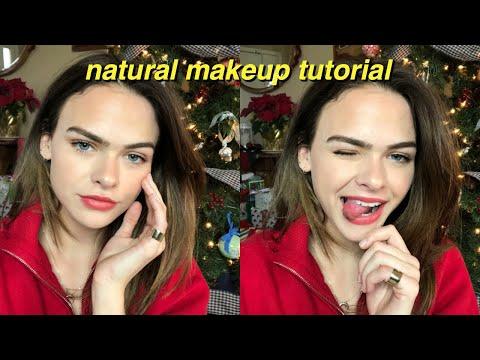 Christmas Makeup Tutorial/My Everyday Makeup Routine | Summer Mckeen