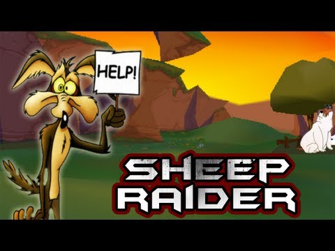 Sheep Raider - O JOGO DO COIOTE! (PS1)
