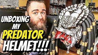 *PREDATOR* MOTORBIKE HELMET - Unboxing & Review!!!