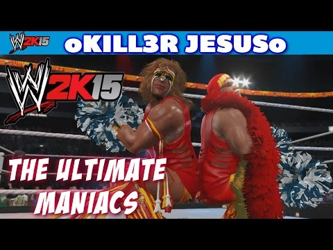 WWE 2K15 The Ultimate Maniacs Hulk Hogan Ultimate Warrior I Community Creations PS4 XBOX ONE