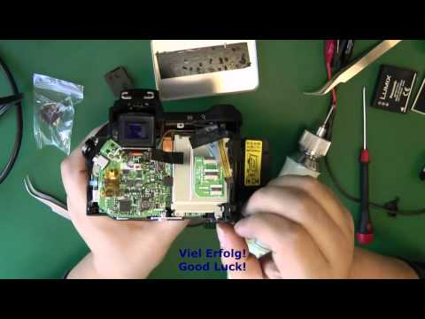3N01 Reparatur Kameras NIKON CoolPix 5700 CCD 1 -CCD Umtausch - camera Replace or Repair- CCD change