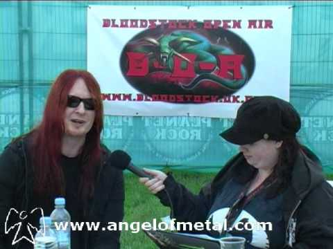 Michael Amott of Arch Enemy/Carcass Interviewed by Angel Of Metal at Bloodstock 2009