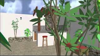 Diseño de asador en 3D