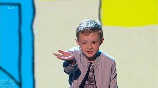 Britain's Got Talent 2017 Live Semi-Finals Ned Woodman Savage Kid Comedian Full S11E12
