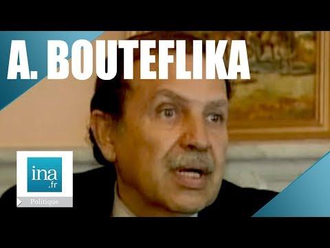 """Abdelaziz Bouteflika """"Je ne suis pas un chercheur de pouvoir"""" - Archive INA"""