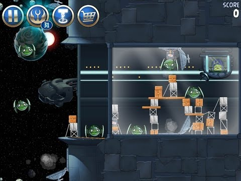 Angry Birds Star Wars 2 Level B3-20 Battle of Naboo 3-Star Walkthrough