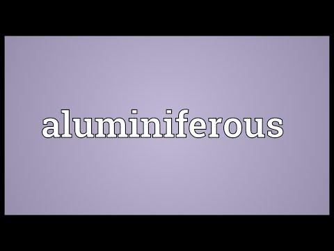 Header of aluminiferous