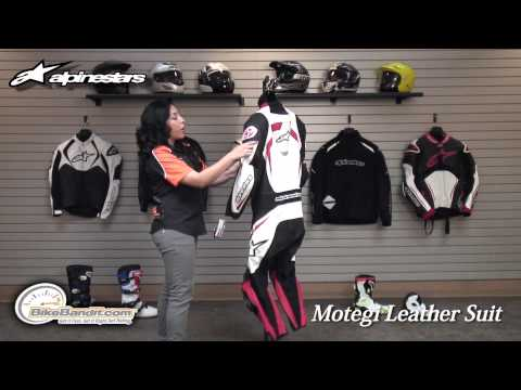 Alpinestars Motegi Leather Motorcycle Suit at BikeBandit.com