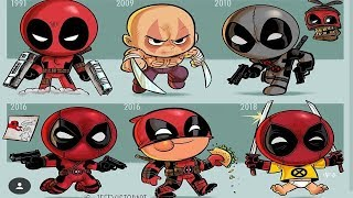 Evolution Of Your Favorite DC & Marvel SuperHeroes. Must Watch !!