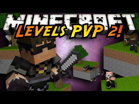 Minecraft Mini-Game : LEVELS PVP 2!