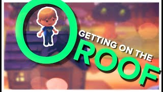 Getting On The ROOF In this Animal Crossing GLITCH