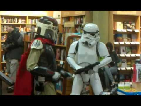 Dancing Troopers @ Star Wars Reads Day