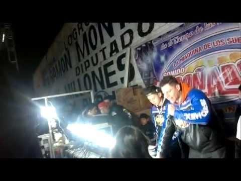 SONIDO ULISES MONROY MOSAICO DE LA MATANCERA VALLE DE CHALCO 2015 01 25