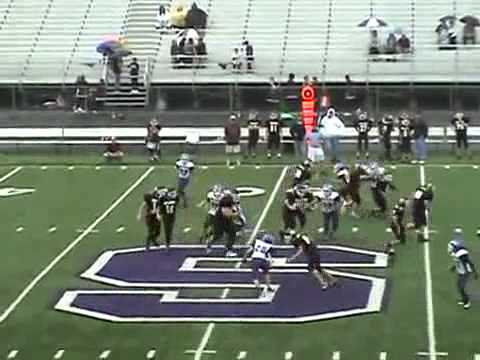 Little Kid gets TRUCKED in Pee Wee Football Game