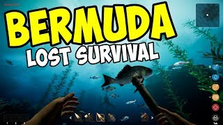 DIVING & SURVIVING in the BERMUDA TRIANGLE - Bermuda Lost Survival Gameplay - Episode 1