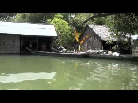 Flood in Cambodia 2011