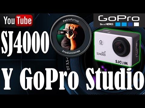 SJ4000, SJ5000 y GoPro Studio