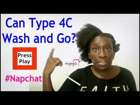 Natural Hairstyles | They Say Type 4C Naturals Can Not Wash and Go