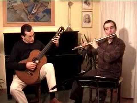 Baron Presto Flute Guitar duo - duorg - Raña/González