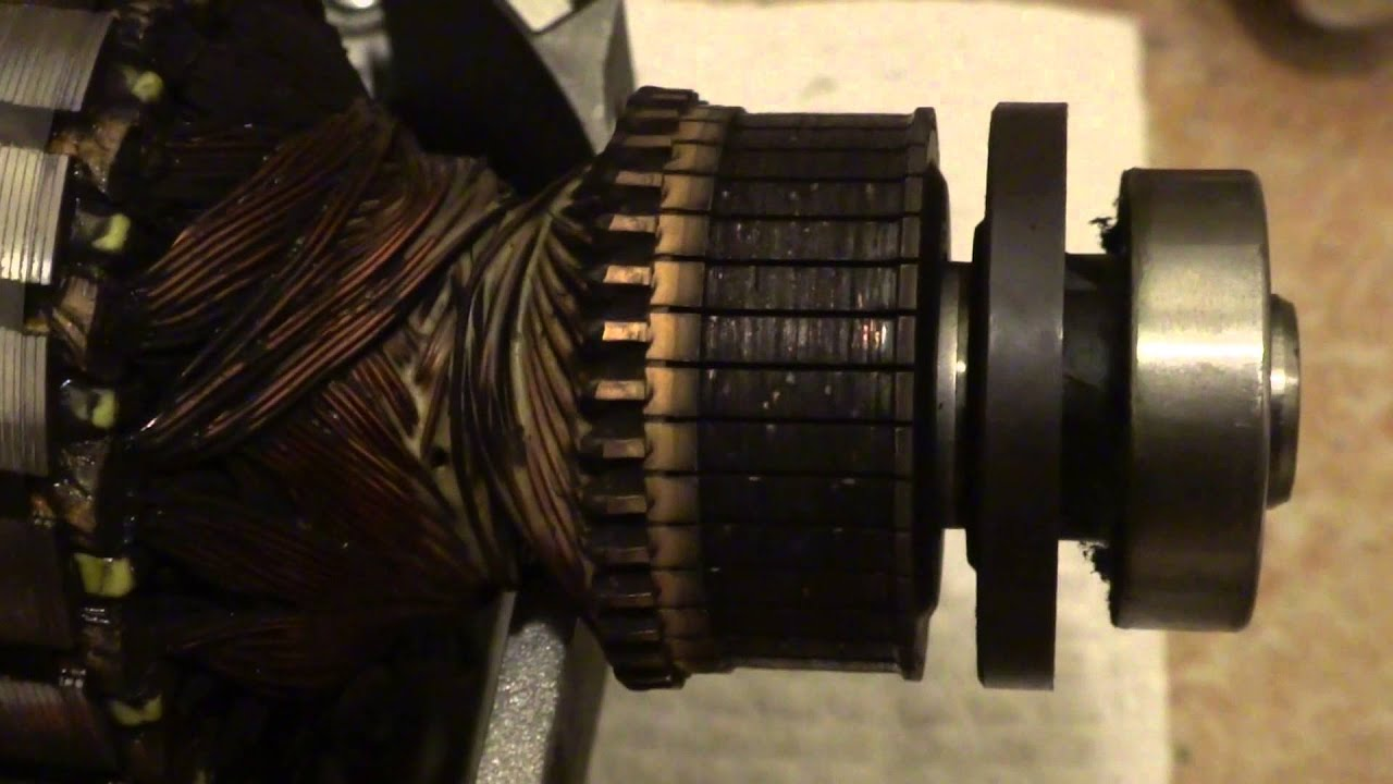 Teardown and inspection of bosch washing machine motor for Washing machine motor repair