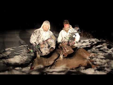 Bowhunting Late Season Whitetail Deer