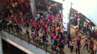 Flash Mob ZUMBA Azrieli Tel Aviv