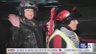 Mobile Harley Owners Group donates to the Magical Christmas Toy Drive