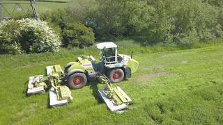 Claas Cougar, 25 acres in 30 mins