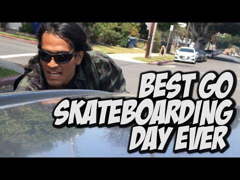 BEST GO SKATE DAY EVER !!! - NKA VIDS -