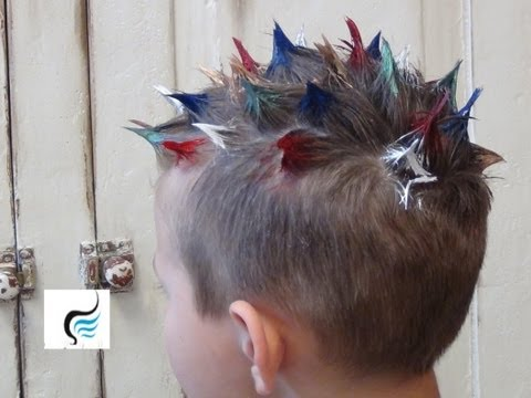 Crazy Spiked HairStyles for Boys