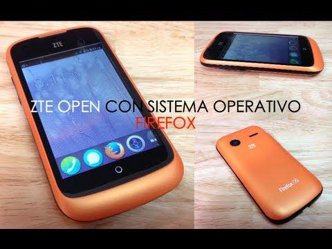 Unboxing ZTE Open con Sistema Operativo Firefox - Primeras impresiones