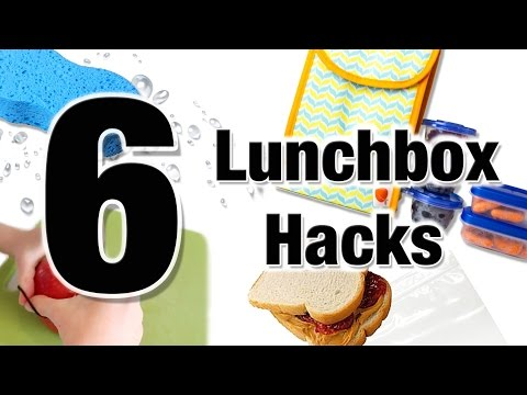 6 School Lunch Hacks for Kids of All Ages | Alison from Millennial Moms