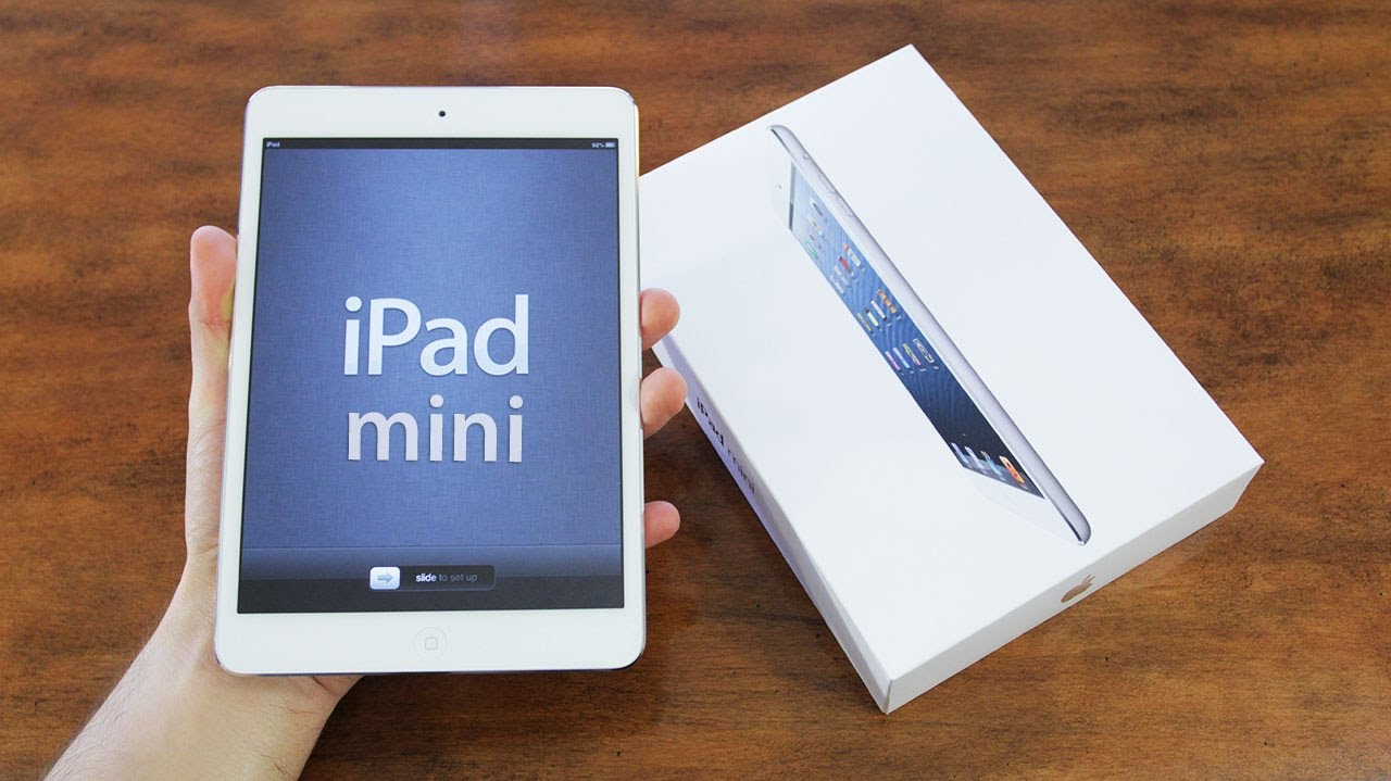 Apple Ipad Mini Black in Box Apple Ipad Mini Unboxing