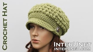 Crochet a hat - video tutorial for beginners. Part 2 of 2